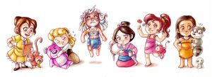 Disney Babies3 by Gigei