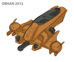 Tau Piranha Quick Sketch by Obhan