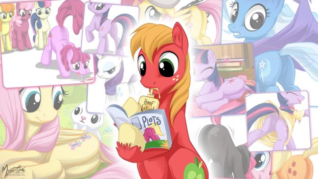 Big Macintosh - Hoof Lotion 16:9 by mysticalpha