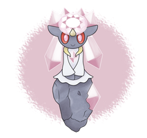 The Princess Diancie by CawinEMD