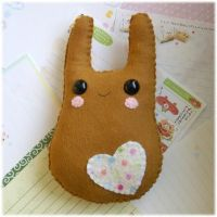 Tanned Bunny Plush by Keito-San