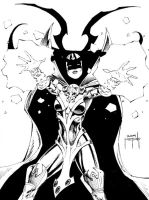 Hela con sketch by JMan-3H