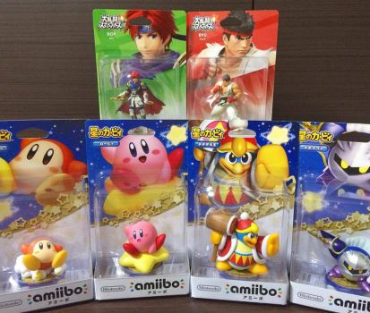 Today's Amiibo Haul by Quas-quas
