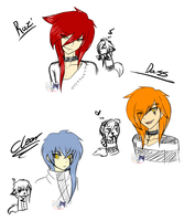 Razi, Clear and Dass Anime Style Practice by NightSaber