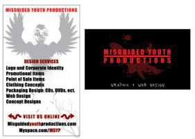 MGYP Business Card design 2 by genecapone