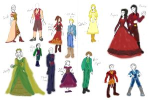 Fables Ball Designs Colored by Valor1387