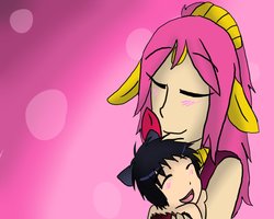 Mother And Daughter by AgenderedKing