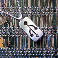 USB Pendant by harlewood