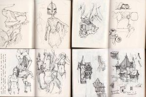 Everyday Sketching by grenia