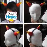 HOMESTUCK Terezi Pyrope horns commission by Harusame-chan
