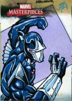 Marvel Masterpieces Darkhawk by MJTannacore