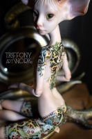 BJD Sphinx of porcelain by TriffonyArtwork
