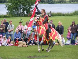 Jousting - Knight 44 by Axy-stock