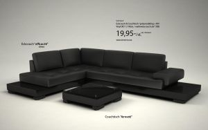 Couch efficacite by 3DPORTFOLIO