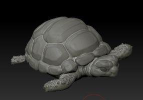 turtle WIP by bananamannen