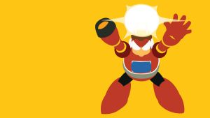 Bright Man Minimalist Wallpaper by Oldhat104