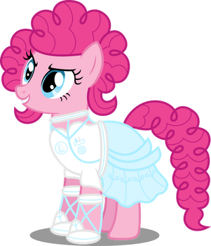 Ponies of the Future - Pinkie Pie by AtomicMillennial