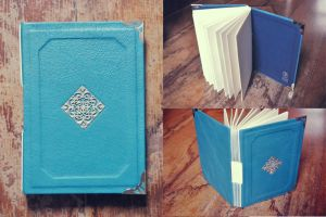 Leather Book by sahdesign
