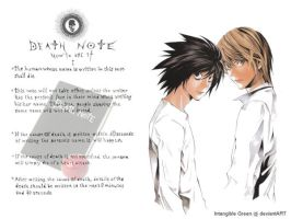 Death Note Wallpaper by IntangiblexGreen