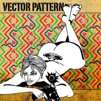 vector pattern 107 by paradox-cafe