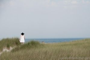 Angel approaching the beach by speedofmyshutter