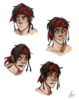 James Kidd faces by SarcasticBrit
