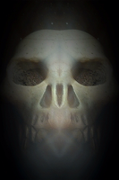 Unearthed ET Skull by OtherWorldyImages