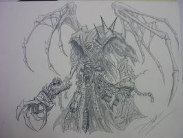 Reaper form - Darksiders 2 by WiseOstrich