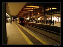 Railroad Station IV by afv