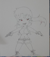 Revy(chibi) from Black Lagoon by revvy-blacklagoon