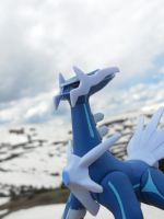 Dialga and the pass by Quilofire