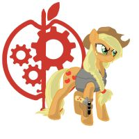 Applejack - Ministry of Technology by tomcullen