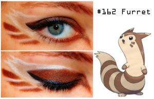 Pokemakeup 162 Furret by nazzara