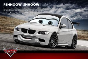 Shaheen BMW M3 Disney Pixar by yasiddesign