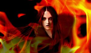 In Flames by darkwoundedrose