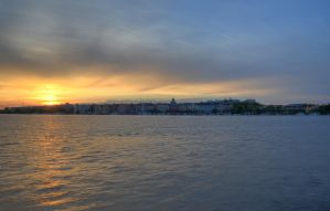 Kungsholmen at Sunset IV by HenrikSundholm
