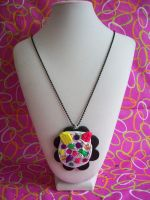 Neon Deco Sweets Necklace by lessthan3chrissy