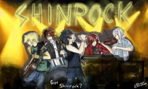 -Got Shinrock?- by GhostCamelion