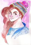 Water colors portait: Comission for murrayisgod by Corelle-Vairel