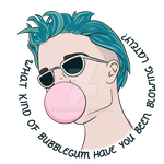 Bubblegum - Available on TeePublic by BlueNightVessel