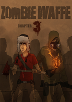 Zombie Waffe chapter cover 3 by Detkef