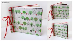 Forest Sketchbook by littlepaperforest