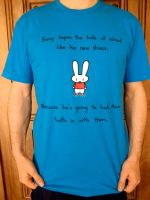 Bunny's New Shoes Shirt by sebreg