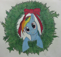 Merry Christmas! (From Rainbow Dash) by ShadowDash0