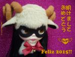 2015 Year of the Sheep by MisatoLx