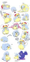 Baby dedede is everywhere by Evanatt