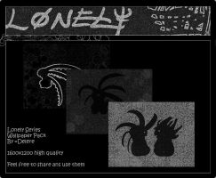 Lonely Wallpaper Pack by Delere