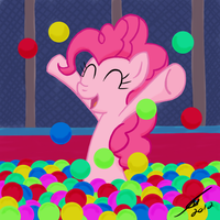 Pinkie Pie - I Found A Ball Pit by template93