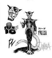 Liveaction style Freeza Design by MatiasSoto