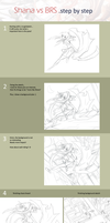 Shana vs BRS Process by mysticswordsman21